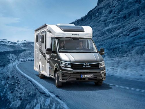 """""""Plus"""" of freedom: The KNAUS VAN TI PLUS now available as the fully equipped PLATINUM SELECTION"""