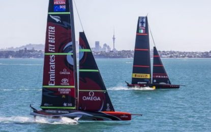 Race 1 of the 36th America's Cup Match will start on Wednesday 10th March