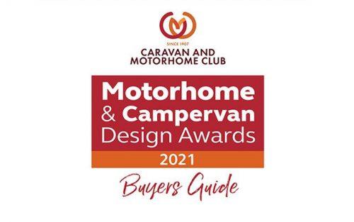 Bailey motorhomes shine in new Caravan & Motorhome Club Design Awards Buyers Guide 2021