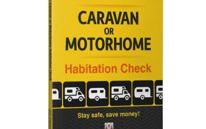 Reading Matters: Do your own caravan or motorhome habitation check by Keith Shephard