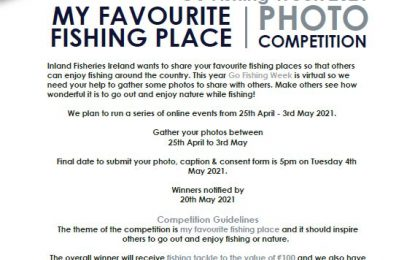 Inland Fisheries Ireland is running a competition for photos of your favourite angling spot