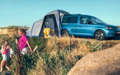 Caddy 5 California Compact camper completes Volkswagen Commercial Vehicles' California family