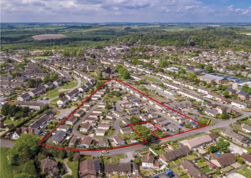 Sale of Bungalow Park Home Estate on Holders Road in Amesbury, Wiltshire