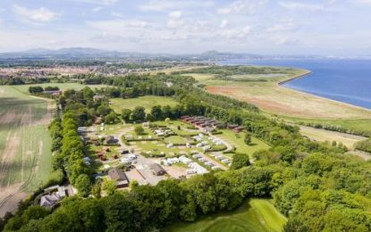 New owners at Drummohr Holiday Park, on the peripheries of Edinburgh, in over 30 years