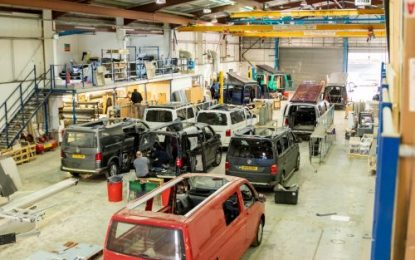 Revolution Campervans expands and invites visitors into new, larger factory to see how a VW campervan is made