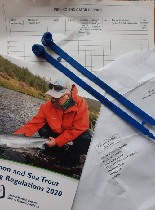 Urgent call for 2020 salmon and sea trout logbooks and tags to be returned