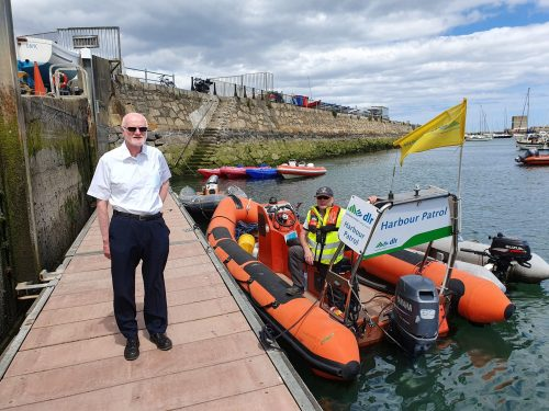 Launch of Dún Laoghaire Harbour Water Safety Patrol Boat