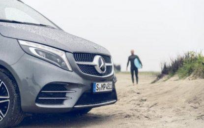 CamperVan Life, Surf Vibes & the Mercedes-Benz Star
