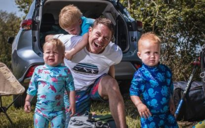 TV Adventurer Steve Backshall Helps Prepare for the Perfect Family Camping Expedition