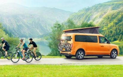 LEVC debuts first impressions of its e-Camper, a new electric campervan