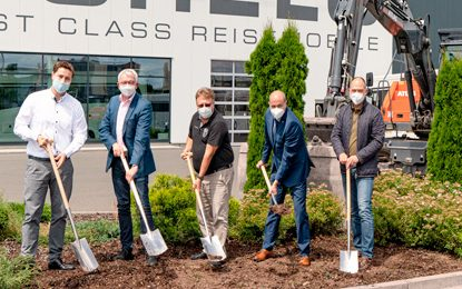 Milestone for MORELO – ground-breaking ceremony for Motorhome plant expansion