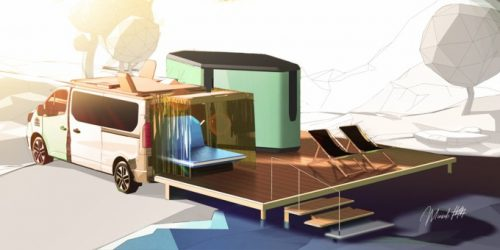 HIPPIE CAVIAR HOTEL: Renault's vision of the 5-Star accommodation escape