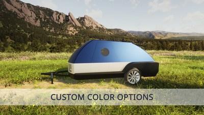 Colorado Teardrops' Electric Vehicle Adventure Trailer