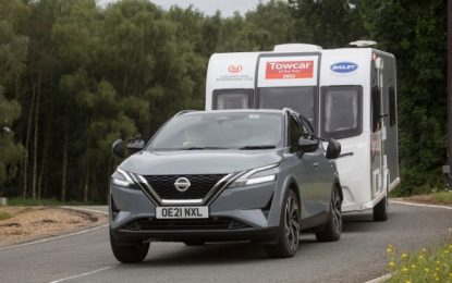 Categorical win for the All-New Nissan Qashqai in the Towcar of the Year Awards 2022
