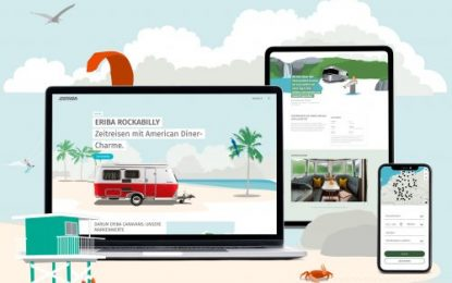 Eriba's wide-ranging brand transformation continues with the relaunch of its website